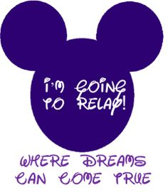 Disney Relay for Life Themes