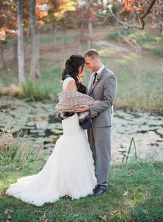 Photographed by Jordan Brittley, this shoot captures the romance of an outdoor winter wedding, complete with cozy shawls, hot drinks and beautiful florals. Outdoor Winter Wedding, Winter Wedding Inspiration, Industrial Wedding, Bride Groom, Elegant, Wedding Dresses, Cozy Knit, Cozy Winter, Photography