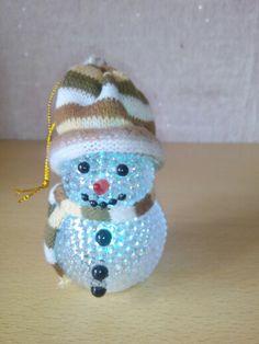 Светильник милый снеговик
