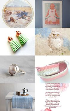 Gentle Monday Morning by Tina St. John on Etsy--Pinned with TreasuryPin.com