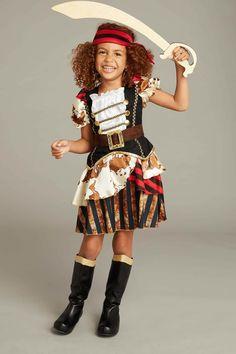 Pirate Lady Costume Play Set For Girls: #Chasingfireflies $49.00