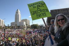 A day after the presidential inauguration of Donald Trump, millions nationwide and around the world marched in support of women's rights. Million March, Presidential Inauguration, Fake News, A Decade, Rally, Donald Trump, Around The Worlds, Facts, In This Moment