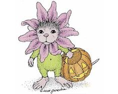 """Monica, from House-Mouse Designs®,  featured on the The Daily Squeek® for January 17th, 2014. Click on the image to see it on a bunch of really """"Mice"""" products."""