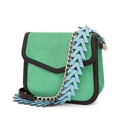 Loewe Bags - V SHOULDER BAG Green/black
