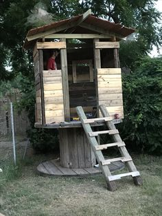Pallet Playhouse With Pole Beans My Personal Pinables