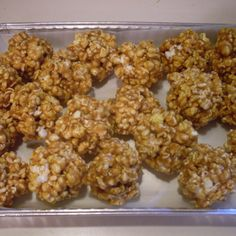 Caramel Pop-corn Balls!