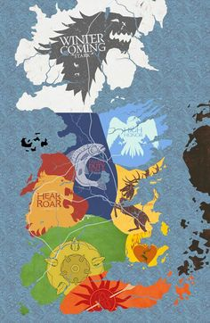 Game of Thrones first 2 season infography