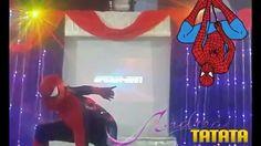 """Homem Aranha no Castelo de Itaipava - """"Encontro Mágico"""" - Cia Andrea Tat..."""