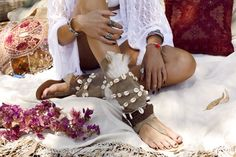 Pure Kimono designed by Layer Boots. Boho chic style from Barcelona. Perfect look with our Ibiza Layer Sandals.