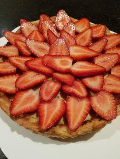 Strawberry Frangipane Tart