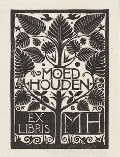 Ex libris, c. 1930-1940