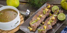Egy finom Birssel sült szarvas mártással vacsorára, ebédre