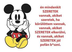 ... Mickey Mouse, Disney Characters, Fictional Characters, Love You, Lol, Messages, Humor, Quotes, Pink