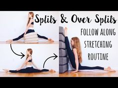 My Goodness! yoga back flexibility Leg Stretches For Flexibility, Stretches For Kids, Good Stretches, Dancer Stretches, Flexibility Dance, Gymnastics Flexibility, Flexibility Training, Stretching, Middle Splits Stretches
