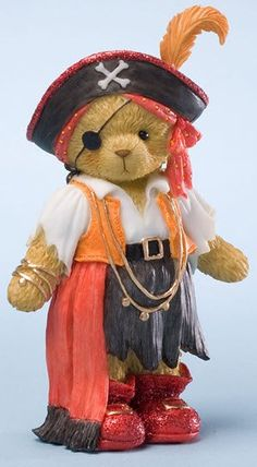 Jack Sparrow Bear! What a freakin turn on! I LOVED those movies and Johnny Depp all his movies! Very HOT STILL! YES! D:) Smile
