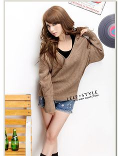 wholesale New Chic Hooded Sweater    $14.66  from www.wholesaleitonline.com