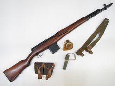 SVT40 rifle