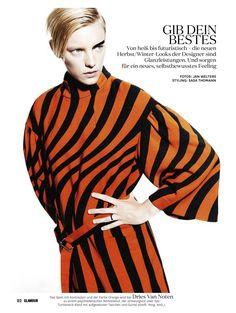 gib dein bestes: erika linder by jan welters for glamour germany september 2014