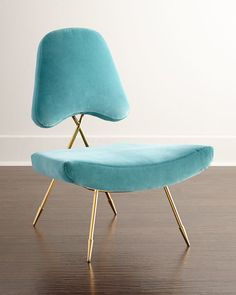 Modern chair for modern living rooms from Johnathan Adler