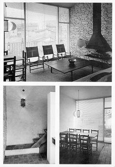 Barcelona, Le Corbusier, 1984, Photo Wall, Desk, Interior Design, Architecture, Classic, Table