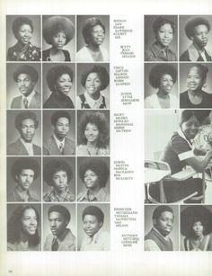 1974 Crenshaw High School Yearbook via Classmates.com
