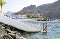 THe Hotel Puerto de Mogán private access to the sea www.totalhotelexperience.com Gran Canaria, Canary islands. Spain