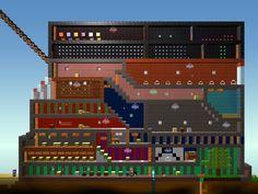 """Mi casa en """"the blockheads"""" un juego disponible en ipad,iPod y iPhone   En Game Center soy : PAPAFRUTA (en mayúscula)"""