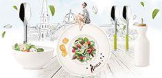 Salad season with Villeroy & Boch / spring time  #spring #salad #health #villeroyandboch #food
