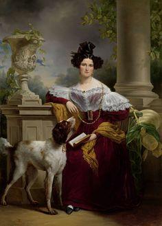 Portret van Alida Christina Assink, Jan Adam Kruseman, 1833