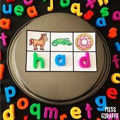 Word building activities kindergarten kids absolutely love because they are a mystery! Student look at the beginning sound for each picture to determine the letter and solve the secret! Fun! Short Vowel Activities, Short I Words, Cvc Word Families, Sounding Out Words, Word Building, Alphabet Coloring Pages, Tracing Letters, Beginning Sounds, Short Vowels
