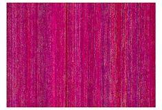 Matilda Flat-Weave Rug, Fuchsia on OneKingsLane.com
