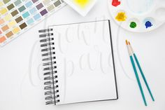 Mock-up for Artwork - Watercolor Art by BrownLeopard on Creative Market
