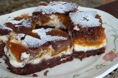 Tvarohové rezy – vynikajúce a rýchle Sweet Desserts, Sweet Recipes, Russian Recipes, Pavlova, Food Styling, Sweet Tooth, French Toast, Food And Drink, Cooking Recipes