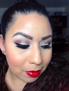 Sigma palette and milani lipstick