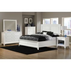 Bedroom Furniture-The Whitley Collection-Whitley Queen Bed