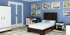 Everything imaginable for your child's room! Kids furniture is our business and we have an unrivaled collection. Find high-quality furniture, art, bedding, decor and rugs at Rosenberry Rooms! Modern Childrens Furniture, Kids Furniture, Modern Kids, Modern Room, Boy Room, Kids Room, High Quality Furniture, Hardwood, House Design