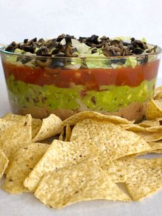 5 Layer Dip, Seven Layer Taco Dip, Dairy Free Appetizers, Layered Taco Dip, Free Taco, Dairy Free Cheese, Homemade Guacamole, Vegan Cream Cheese