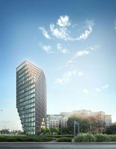 ufficio Baltico a Poznan.  Progetto: MVRDV