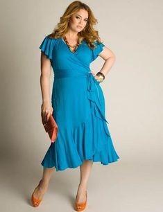 Moda femenina: Vestidos en tallas grandes primavera-verano 2013
