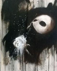 Stunning art work  #thephantomoftheopera