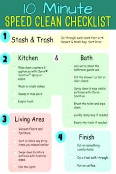 Easy home cleaning schedule ideas and housekeeping checklist examples to print or to create your OWN cleaning lists for YOUR daily, weekly and monthly chores to keep your house clean … Clean House Schedule, Spring Cleaning Checklist, Cleaning Schedules, Weekly Cleaning, Cleaning Lists, Chore List For Kids, Chores For Kids, Speed Cleaning, Cleaning Hacks