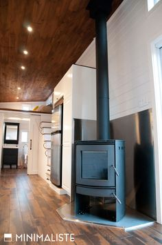 The Chene is 340-square-feet on the main floor, plus there is an additional 80-square-feet in the bedroom loft.
