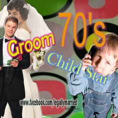 """""""70's Child Star Now Groom"""" By Celebrity Wedding Officiator - Guess who? Sang a song with """"Rat Pack"""", appeared on CHIPS, and just a kid in a 70's sitcom"""". Married by Celebrity Wedding Officiator at The Clergy Network  - www.facebook.com/legallymarried"""