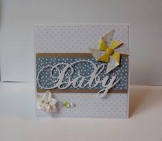 Carte de naissance / félicitations et son enveloppe : Cartes par creations-carterie