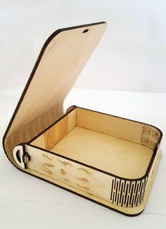 Vida bisagra caja