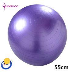 55cm engrosamiento a prueba de explosiones bola de yoga bola adelgazante embarazada partera bola de nacimiento de alta calidad bola de la aptitud + libre 1 bomba de aire