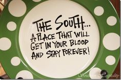 The South - a place that will get in your blood and stay forever. Southern - by birth and choice! Southern Pride, Southern Sayings, Southern Girls, Simply Southern, Southern Charm, Southern Belle, Country Girl Quotes, Country Girls, Miss Florida