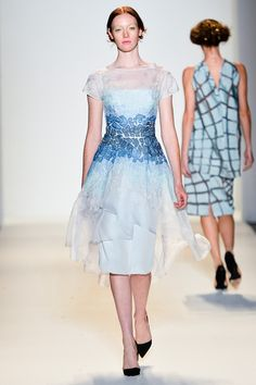 Lela Rose Spring 2014 www.renttherunway... Repin your favorite #NYFW looks to get them from the Runway to #RTR!