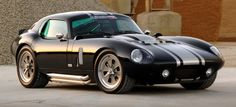 Photographs of the 2009 Superformance Shelby Daytona Cobra Coupe. An image gallery of the 2009 Superformance Shelby Daytona Cobra Coupe. Daytona Car, Shelby Daytona, Ford Shelby, Ford Gt, Shelby Gt500, American Dream Cars, Automotive Manufacturers, Car Wallpapers, Car Car