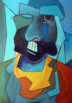 'Mann vom Osten' von David Joisten bei artflakes.com als Poster oder Kunstdruck $6.48